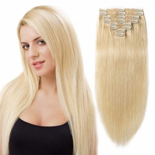 KIT CLIPS LISSE REMY 65 CM LONG